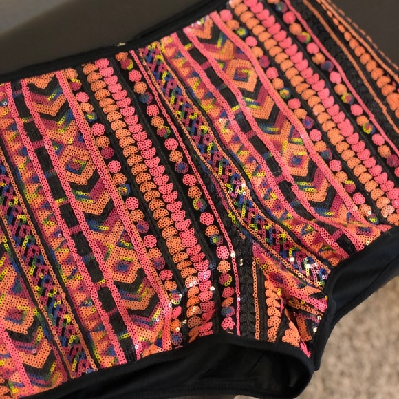 Forever 21 Pants - F21 sequin shorts